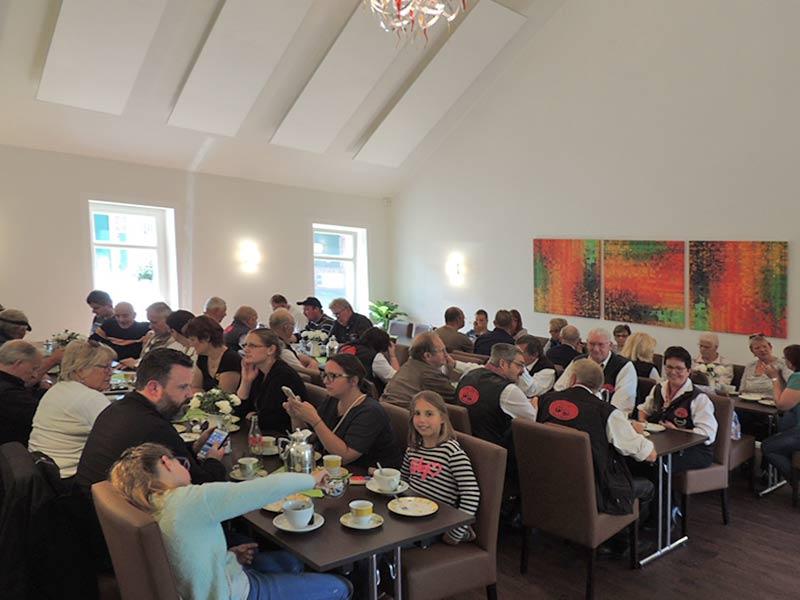 Seminarraum mit Gästen
